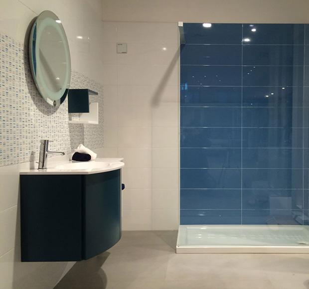 Quattro elle ceramiche olgiate molgora lc realizzazioni ambientazioni in showroom - Ambientazioni bagno ...